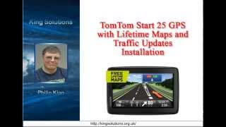 TomTom Start 25 GPS Navigation System Software Installation