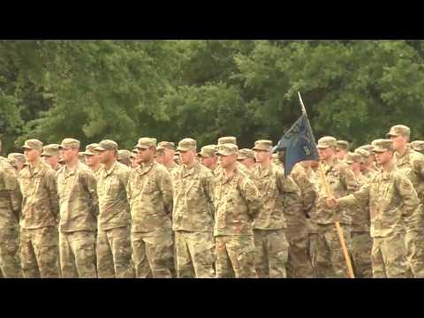 GEN Perkins addresses young leaders at Fort Benning