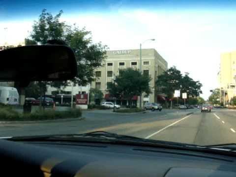 Arriving at Lincoln, Nebraska, USA