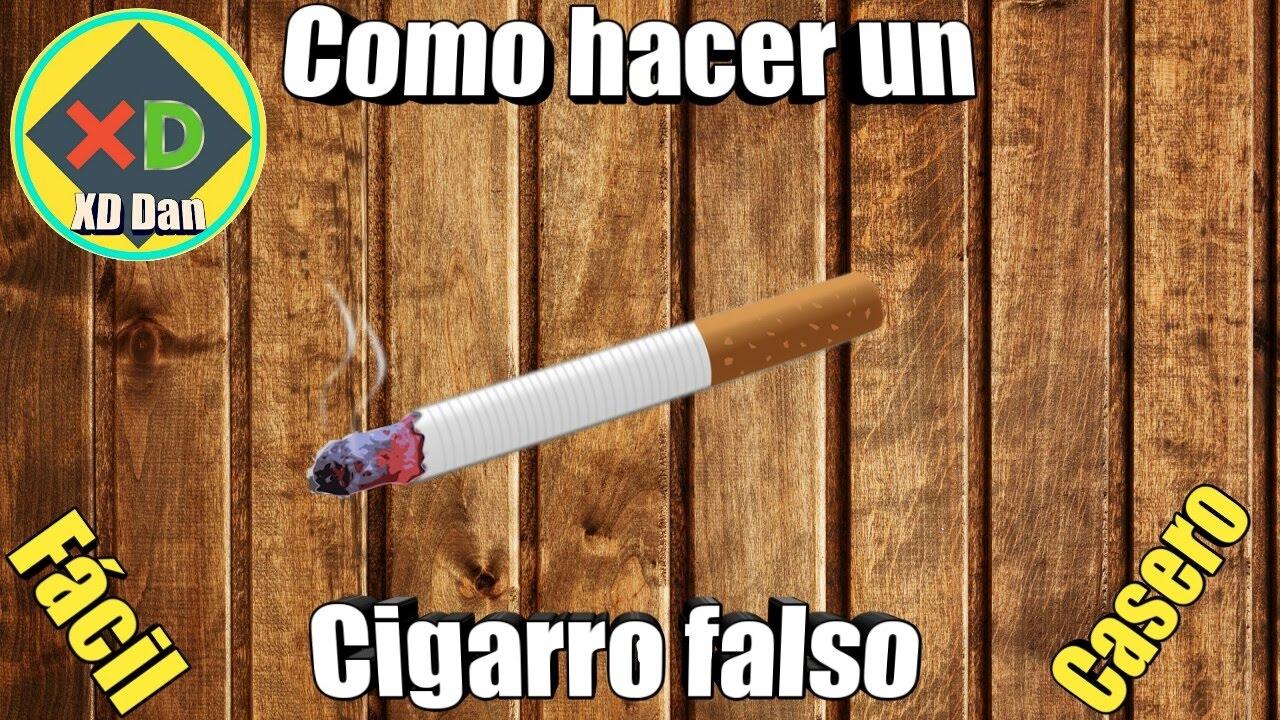 Como hacer un cigarro falso youtube - Como hacer un dosel para cuna ...