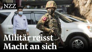 Militärputsch in Burma: Der Westen droht mit Sanktionen, Chinas Einfluss wächst