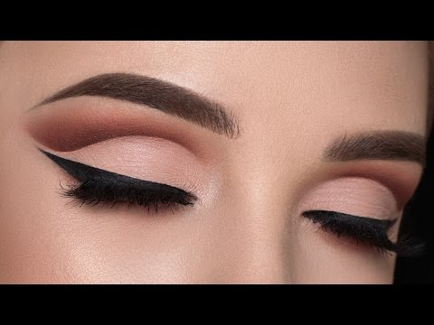Warm Cut Crease Makeup Tutorial