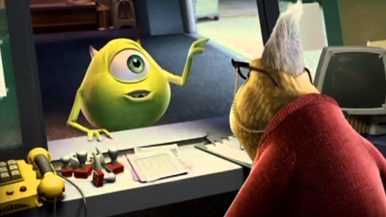Pixar: Monsters, Inc. - original 2001 movie trailer (Very High Quality)