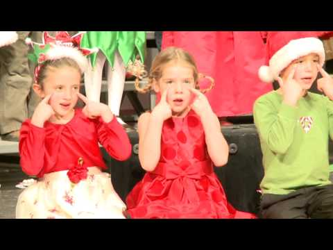 Boyne City Elementary School Christmas Sing 2012 KD and Second Grade Part II