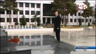 Prezident İlham Əliyev Sabirabad rayonuna səfərə gəlib