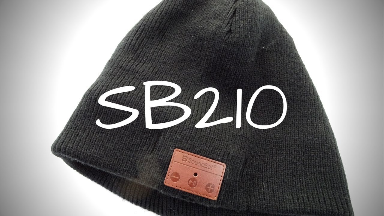 f35680c5b364f Soundbot SB210 Bluetooth Beanie - Skull Cap with Headphones - YouTube