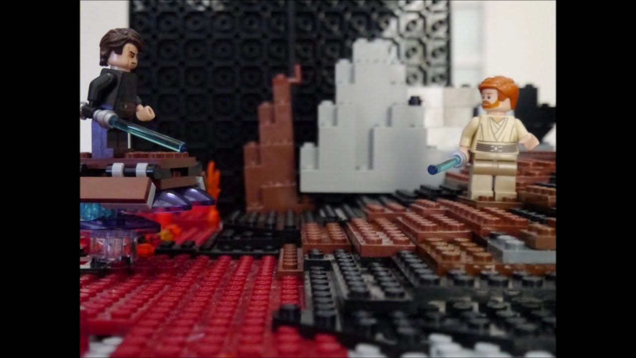 Lego Star Wars EpisodeⅢ Anakin Skywalker Vs Obi Wan Kenobi Youtube