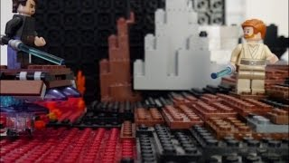 LEGO STAR WARS EpisodeⅢ  Anakin Skywalker vs Obi-Wan Kenobi