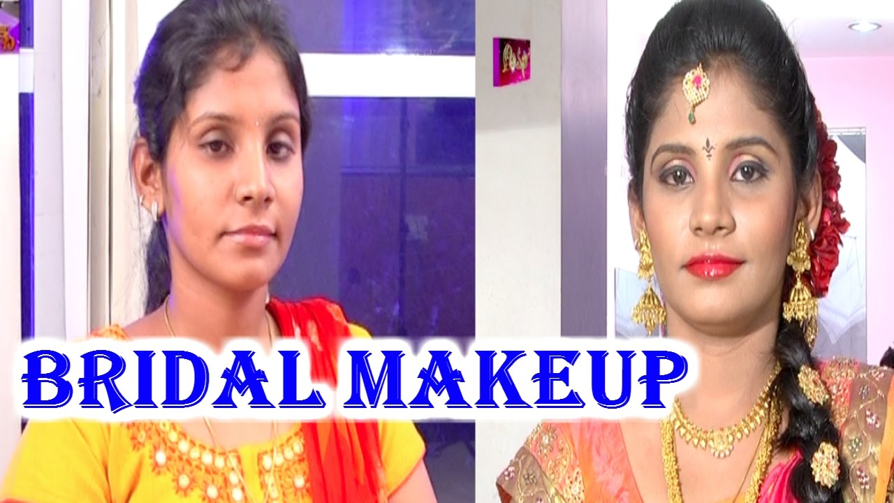 Real Bridal Makeup By Anoo S Beauty Parlour Trendy Looks Avani Hmtv Youtube