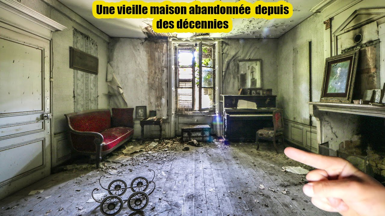 On explore une vieille maison abandonnée! (urbex)