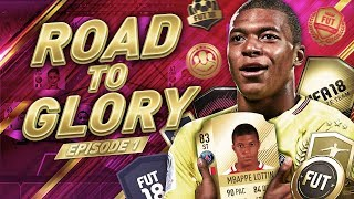 MBAPPÉ ROAD TO GLORY #1 - THE BEGINNING - FIFA 18