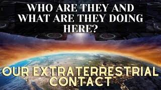 WHO ARE THEY AND WHAT ARE THEY DOING HERE? - OUR EXTRATERRESTRIAL CONTACT