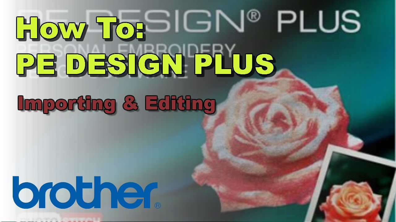 How to edit designs add text on the brother pe design plus how to edit designs add text on the brother pe design plus software izmirmasajfo