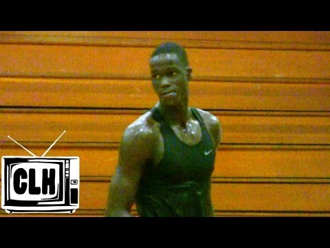 Thon Maker Workout with John Lucas - 7 Footer with UNREAL POTENTIAL - Class of 2016