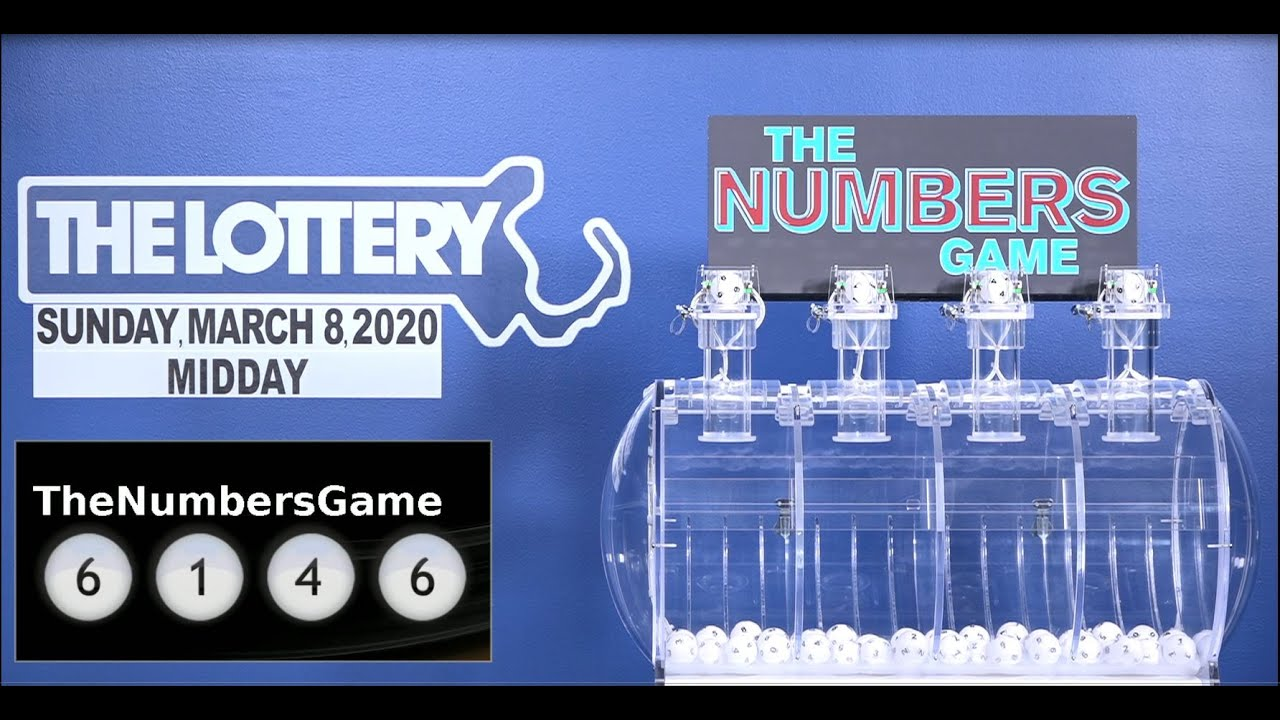 Midday Numbers Game Drawing Sunday March 8 2020 Youtube