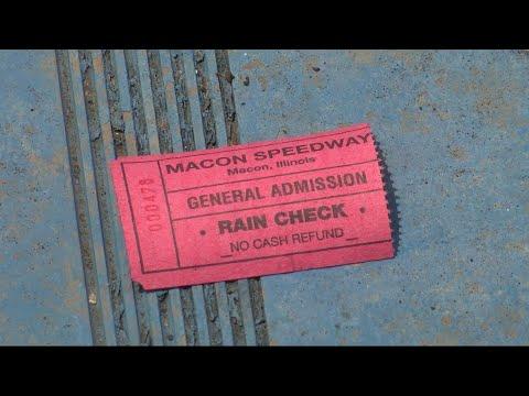 Macon Speedway Rainouts