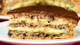 Ich bereite die Torte für besondere Anlässe - Rezept für beste Walnuss Torte. Schmackhaft. TV