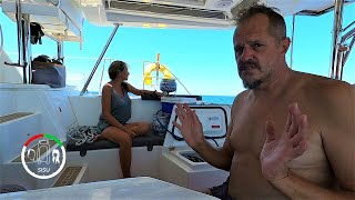 #113 HOW we FILL our LPG AT SEA | Sailing SISU Leopard 45 CATAMARAN