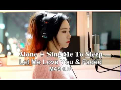 Alone + Sing Me To Sleep + Let Me Love You & Faded | Best MASHUP by J Fla | Alan Walker