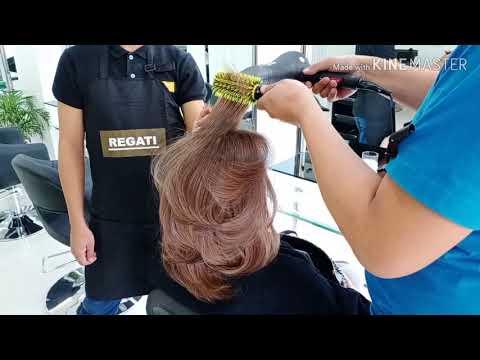 HAIR BLOW DRY /BEST SALON SA DAVAO CITY PHILIPPINES