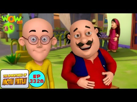 Motu Patlu Cartoon in Hindi | Din Dhade Chori | 3D Animation Cartoon For Kids thumbnail