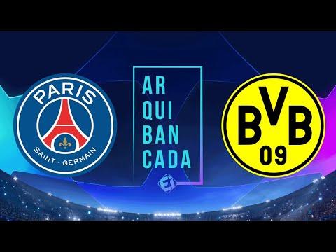 PSG X BORUSSIA DORTMUND (narração AO VIVO) - Champions League