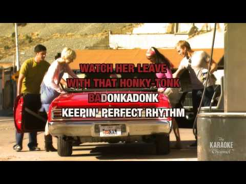 Honky Tonk Badonkadonk in the style of Trace Adkins | Karaoke with Lyrics
