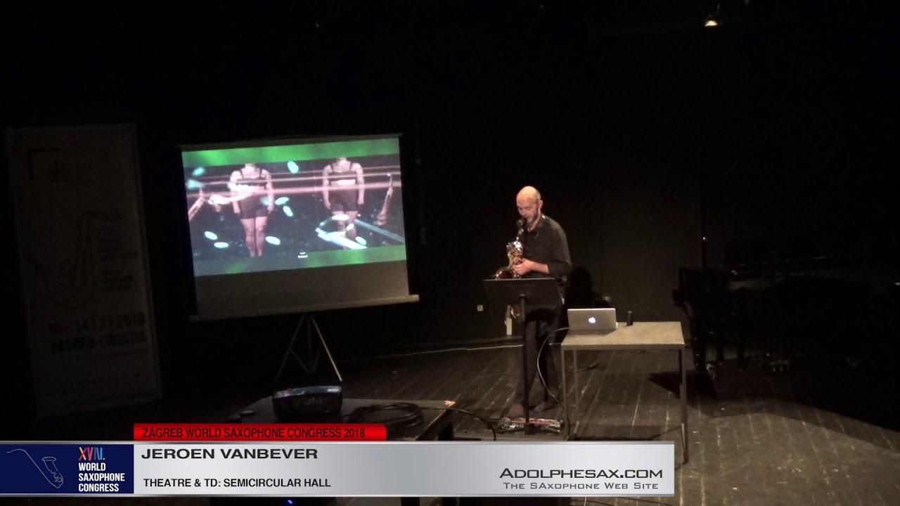 MotherFUNK! by Ian Wilson   Jeron Vanbever   XVIII World Sax Congress 2018 #adolphesax