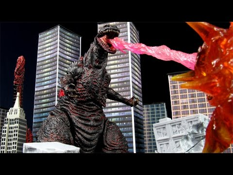 NECA Shin Godzilla (2016) - Gojira Resurgence Kaiju Action Figure Review