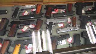 АМЕРИКА #292 магазин оружия Sols. как купить пистолет в США HD