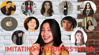 VLOG10: IMITATING YOUTUBERS INTRO