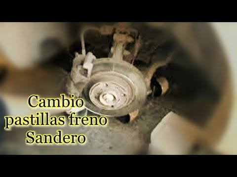 CAMBIO PASTILLAS FRENO SANDERO EN 3 PASOS, 26/12/2018