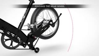 Big Fish bike -  video instructions how to fold