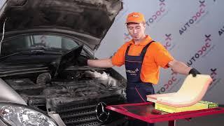 Spilleliste med MERCEDES-BENZ VIANO-veiledninger – reparer bilen din selv
