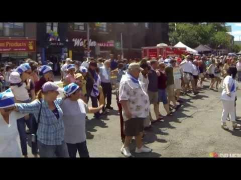 Taste Of Danforth 2013: Zorba the Greek Dance