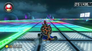 SNES Rainbow Road - 1:24.142 - Rai-Oh (Mario Kart 8 World Record)