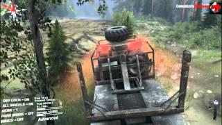 Spin Tires Gameplay PC/HD 7750 (Comentariu In Romana )2015 [Din apa in cacat]
