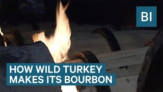 How Wild Turkey Makes Its Iconic Bourbon Whiskey