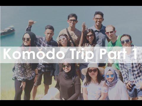 Sailing Trip Labuan Bajo Part 1 (Paradise Cafe, Kelor Island, Rinca Island)