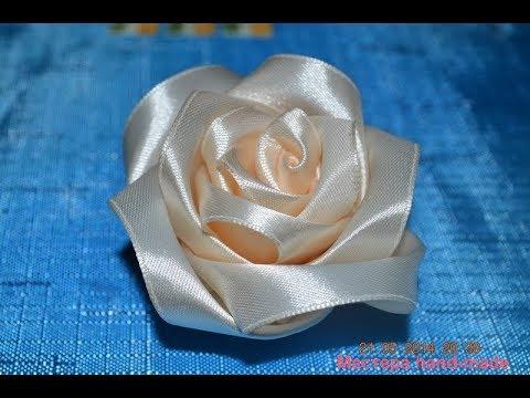 Розы из атласных лент и мой Инстаграм