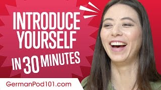 How to Introduce Youŗself In German in 30 Minutes