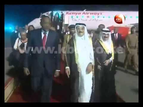 Uhuru invites Qatari investment in Kenya's energy sector