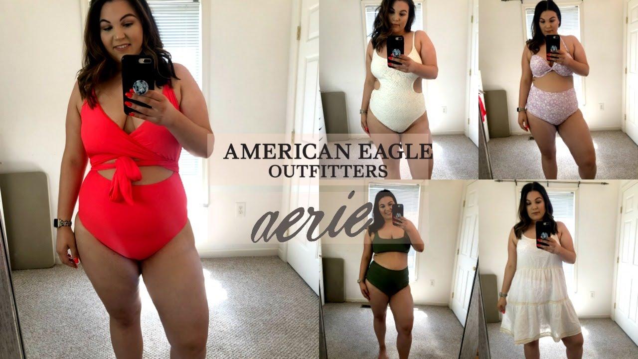 b9bfccd6250a4 PLUS SIZE AMERICAN EAGLE SWIMWEAR TRY ON HAUL | Kelly Elizabeth ...