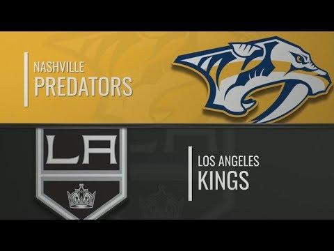 Нэшвилл - Лос Анджелес | Nashville Predators Vs Los Angeles Kings | Обзор матча 12.10.2019