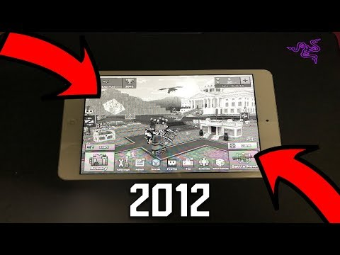 This HAPPENS When You Play Pixel Gun 3D On 2012 IPAD | 5 Years Later...