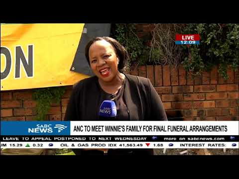 Latest update from mama Winnie home in Soweto