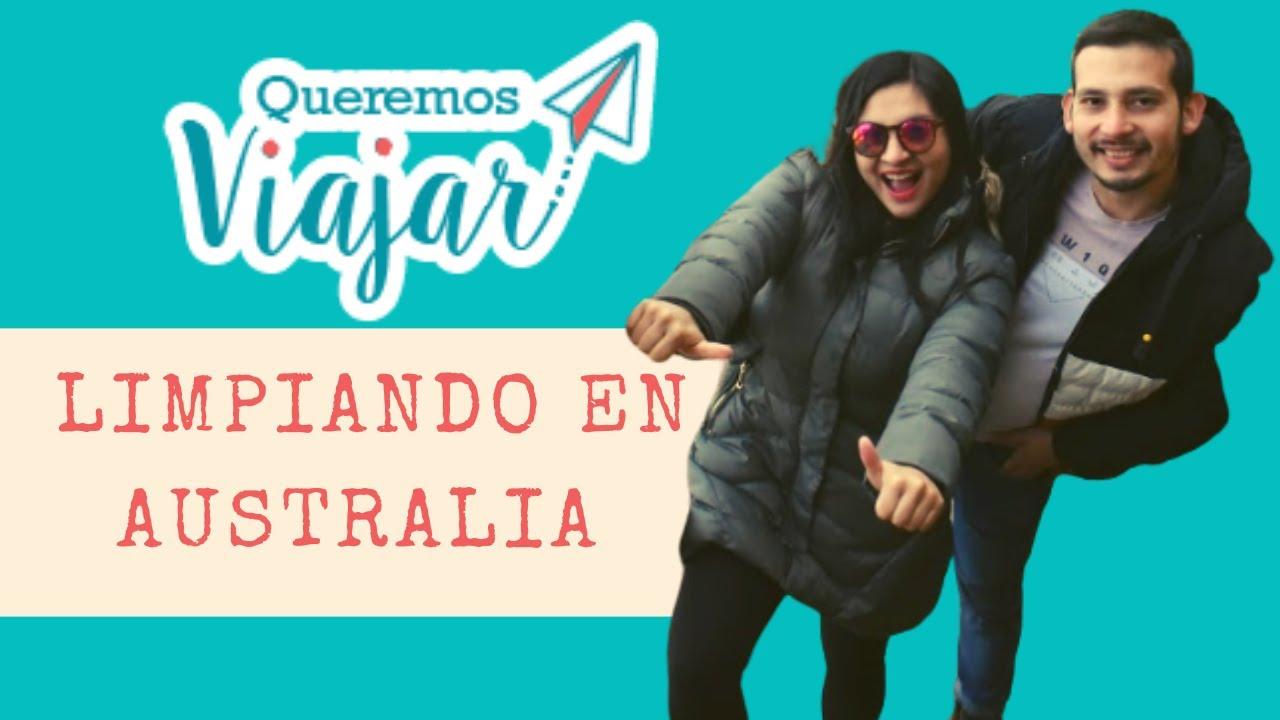 💪Trabajar en LIMPIEZA 🚽 en Australia 🦘  CLEANING 🧹   Queremos viajar