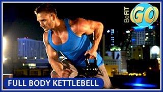 Full Body Strength Kettlebell Workout: BeFiT GO- 10 Mins