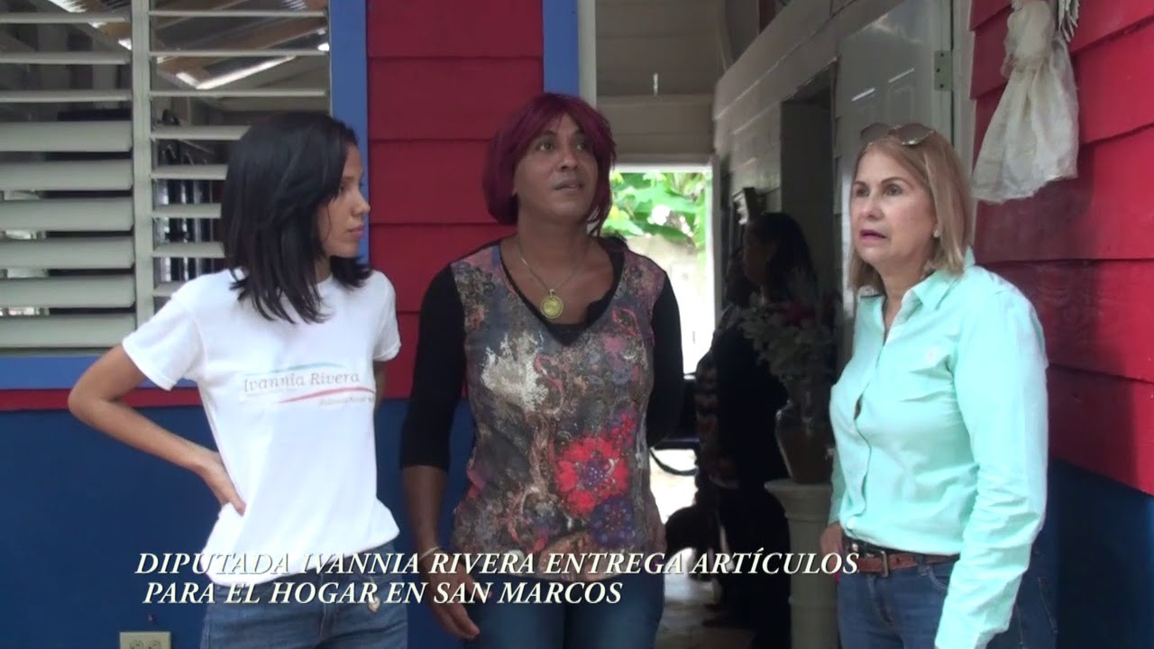 DIPUTADA IVANNIA RIVERA ENTREGA ARTÍCULOS PARA EL HOGAR EN SAN ...
