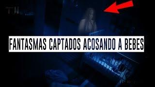 FANTASMAS CAPTADOS EN VÍDEO ACOSANDO A BEBÉS (REAL)
